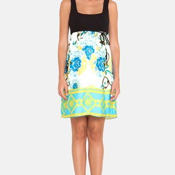 Women's Olian Print Maternity Tank Dress,