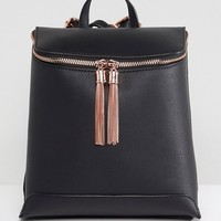 ASOS Tassel Backpack at asos.com