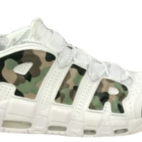 auguau Custom Nike Air More Uptempo Camo
