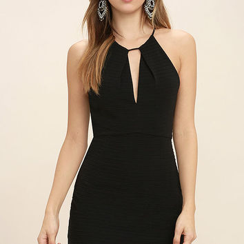 All That Black Bodycon Dress