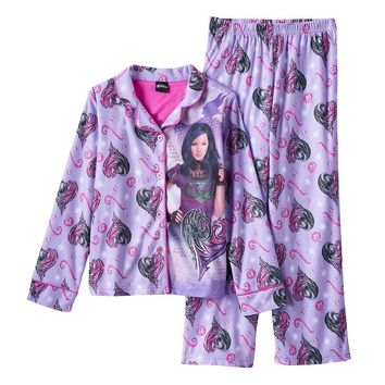 Disney's Descendants Mal Heart Pajama Set - Girls