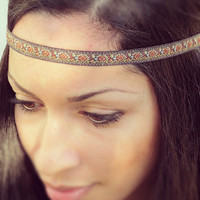 Hipster Earth tone Hippie Headband- bohemian hairstyles
