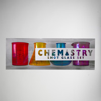 Chemistry Shot Glass Set