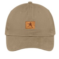 Lacrosse Unlimited Leather Patch Hat