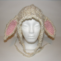 Lamb bonnet hat  Child size