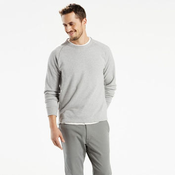 Levi's Commuter Long Sleeve Raglan Grey Heather