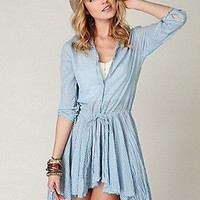 FP ONE Places I Remember Shirt Dress at Free People Clothing Boutique