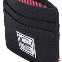 Shop Herschel Supply Co Charlie Wallet in Black | Jack's Surfboards