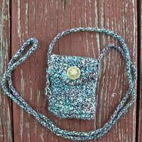 One of a Kind, Handmade Spirit Pouch called Harmony