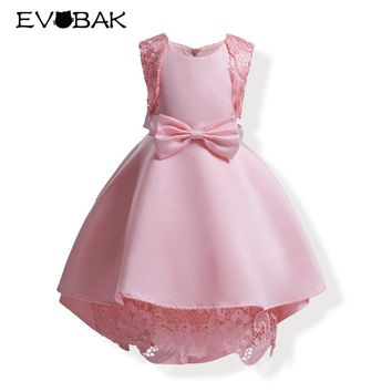Girls Dress Summer 5-10 Years Floral Baby Girls Dresses Vestidos 20 Colors Party Dresses Cute Children Clothes Birthday Clothing