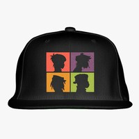 The Gorillaz  Embroidered Snapback Hat