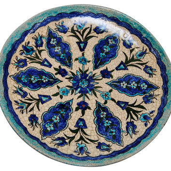 Blue & White Syrian Pottery
