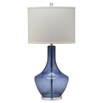 Table Lamp, Alexie Buffet Lamp, Blue, Table Lamps