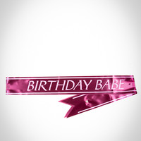 'Birthday Babe' Sash