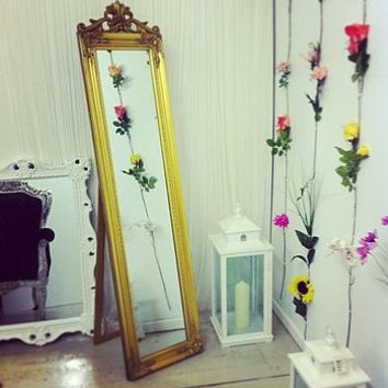 Antique Style Standing Mirror