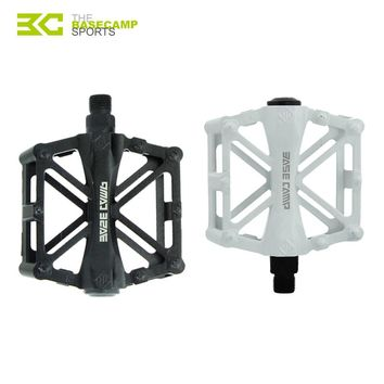 BASECAMP Bicycle Pedals Mountain Bike MTB Road Cycling Alloy Pedal Vintage Bearing BMX Ultra-Light Pedal Bike Accessories H5901