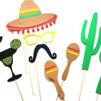 Cinco de Mayo Photo Booth Props
