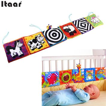 Kids Mirror Animal Bed Cognize Cloth Book Infant Baby Toy Lovely Popular