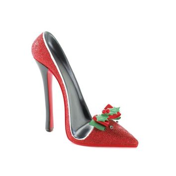 Red Shoe Holiday Cell Phone Holder