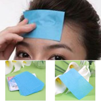 50Pcs Paper Pulp Random Facial Oil Control Absorption Film Tissue Makeup Blotting Paper Beauty