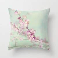 Pink Throw Pillow by SUNLIGHT STUDIOS | Society6