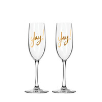 I liked this design on #Fab. Yay! Champagne Flutes Set Of 2