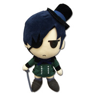"""Black Butler: """"Plush - Ciel 8in (GE8955)"""" : TokyoToys.com: UK Based e-store, Anime Toys Retail & Wholesale, Manga Action Figures,  Hentai Statues, Japanese Snacks, Pocky, DVDs, Gashapon,  Cosplay, Monkey Shirt, Final Fantasy, Bleach, Naruto, Death Note, Wa"""