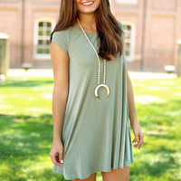 favorite things dress - olive