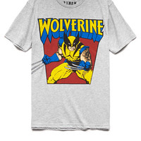 Heathered Wolverine Tee