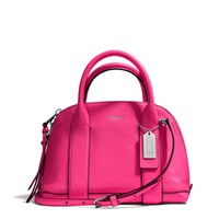 BLEECKER MINI PRESTON SATCHEL IN PEBBLED LEATHER