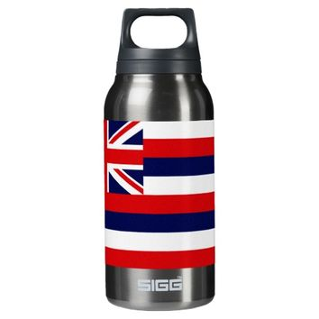 Hawaii State Flag 10 Oz Insulated SIGG Thermos Water Bottle