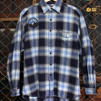 Drifter Blue Flannel