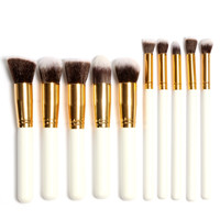 10Pcs/Pack Professional Cosmetic Makeup Brushes Set