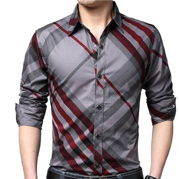 Long Sleeve Business Shirt for Men