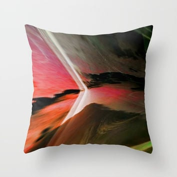 Bold Color Modern Abstract #homedecor Throw Pillow by Sheila Wenzel