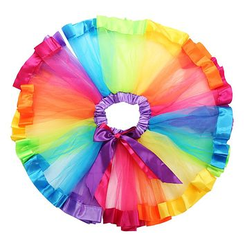 0-8Y Kids Baby Girls Party Tutu Princess Dancing Fancy Costumes Dress Up