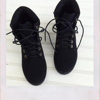 Transition Boots- Black