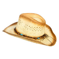 Beaded Ombre Cowboy Hat | Shop Accessories at Wet Seal