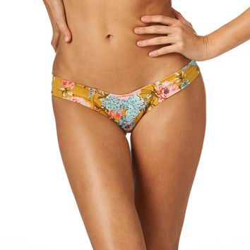 Gold Floral Uno Bottom