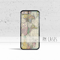 World Atlas Map Case Cover for Apple iPhone 4 4s 5 5s 5c 6 6s Plus & iPod Touch