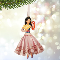 Mulan Sketchbook Ornament