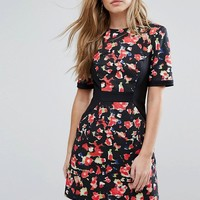 French Connection Bella Ottoman Dress at asos.com