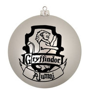 4 Hogwarts House Christmas Ornaments