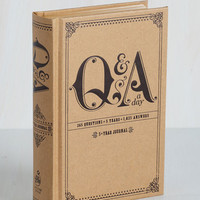 Q&A a Day 5 Year Journal | Mod Retro Vintage Desk Accessories | ModCloth.com