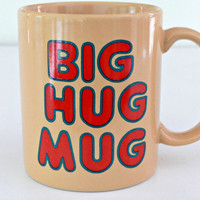 Matthew McConaughey's Big Hug Mug as seen on HBO's True Detective - Original Vintage Coffee Cup