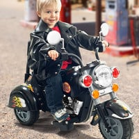 Black Road Warrior Motorcycle Ride-On | zulily
