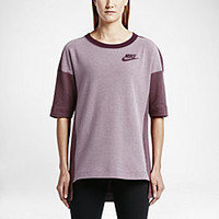 The Nike Rally Plus Crew Women's Shirt.