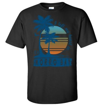 Morro Bay Palm Trees Asst Colors T-shirt/tee