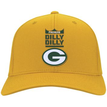Green Bay Packers : Dilly Dilly : CP80 Port & Co. Twill Cap