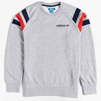 adidas Fitted Crew-Neck Sweatshirt